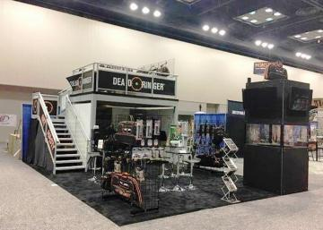 Used 20 x 20 Two-story Trade Show Booth