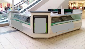 Indoor Mall Retail Kiosks Full Set Mobile phones Sales Counter & Display