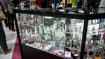 Custom Nimlok display case