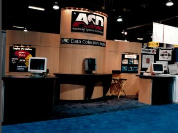 Exponents Booth can be configured for 10x10,10x20 or 20x20