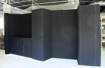 20' Linear Fabric Booth