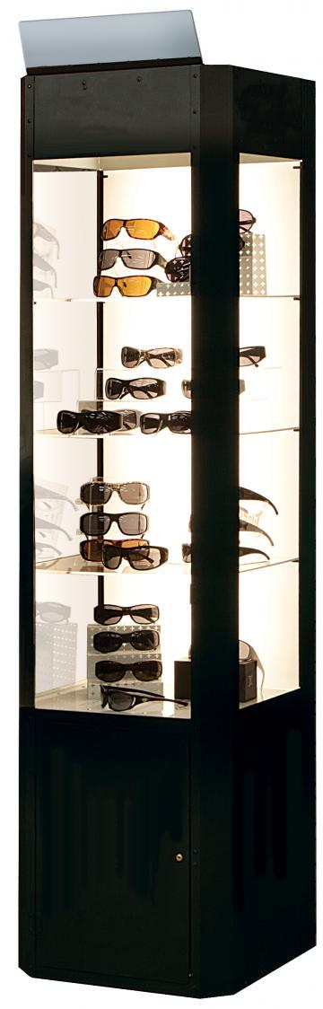 Deluxe Display Cases with Backlighting