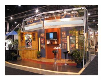 Trade Show Exhibit Display Booth 12' x 20'