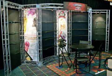 Digital Playground 10' x 20' Linear Booth