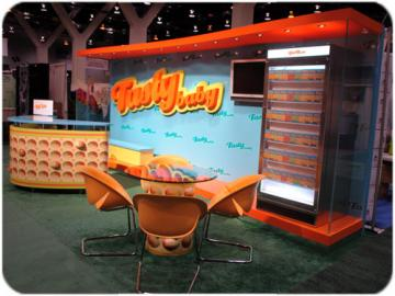 Tasty Brand Trade Show Complete Booth