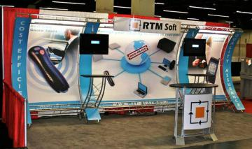 RTM 10' x 20' Linear Booth