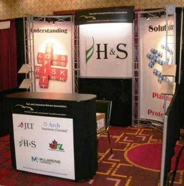 H & S 10' x 10' Linear Booth