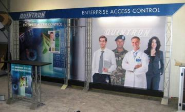 Quintron 10' x 20' Linear Truss Booth
