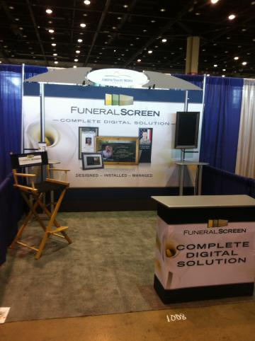 10' x 10' Orbus Linear Trade Show Booth