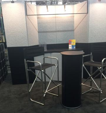 10' Booth with Accessories