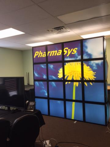 Trade Show / BrightWall Business Display Light Box 8' x 8'