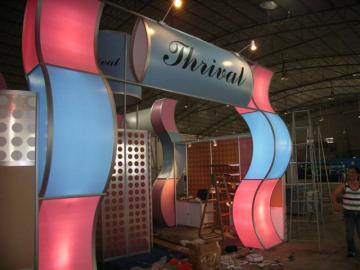 Used Aluminum Trade Show Booth 20' x 40'
