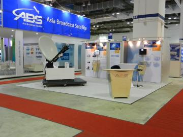 20' x 20' Dynamic Configuration Booth