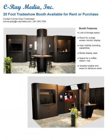 20 Foot Tradeshow Booth